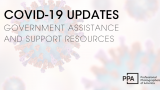 Updates on COVID-19 Government Assistance and Additional Resources to Support You.
