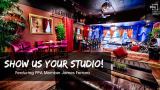 What's in Your Studio? See How James Ferrara Transformed an Old Firehouse Into the Studio of His Dreams!